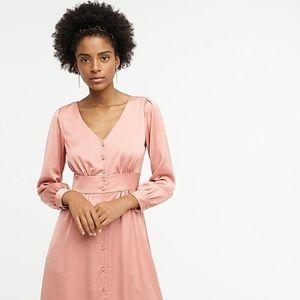 J. Crew Button-front A-line midi dress perfect